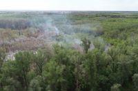 Благая весть: МЧС сообщило о ликвидации крупного пожара в Протопоповской роще Оренбурга.