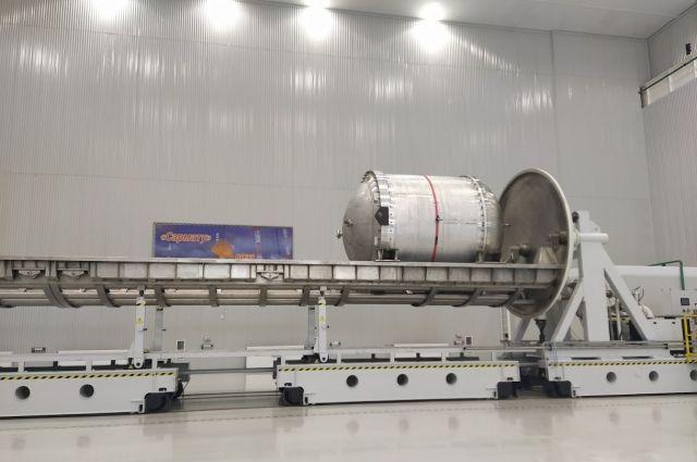 Для производства ракеты на «Красмаше» построили новый цех..