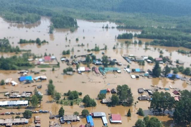 Общий ущерб от паводков в РФ составил 7,5 млрд рублей