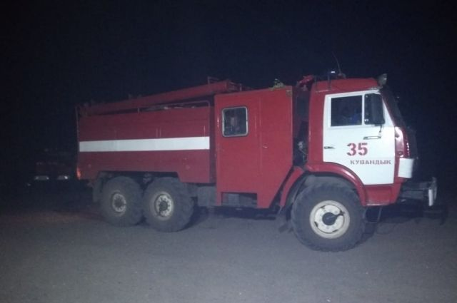 МЧС:  угрозы населенным пунктам от природных пожаров в Кувандыкском городском округе нет.