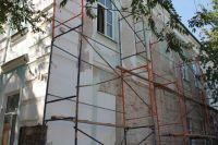 Школа №3 в Оренбурге не успевает открыться к 1 сентября из-за ремонта.