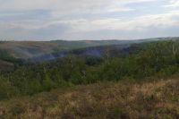 В заповеднике «Шайтан-Тау» из-за пожара закрыли экотропы и отменили бронь туристических домиков.