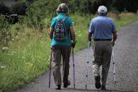 Скандинавская ходьба - один из самых доступных видов физической активности для пожилых людей.
