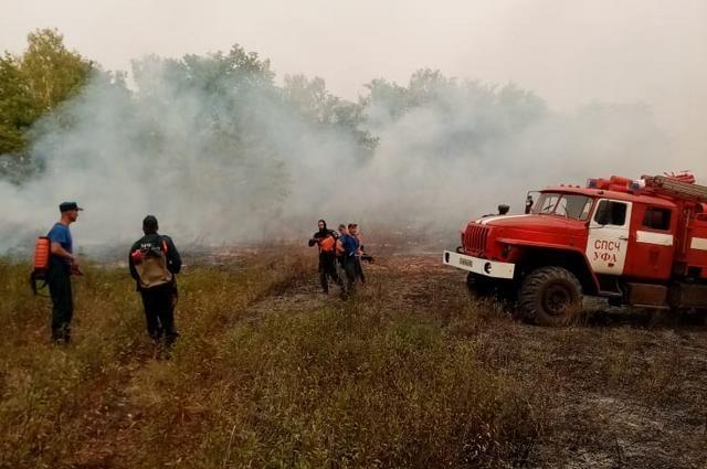 Хабиров планирует выехать в район с самым крупным лесным пожаром