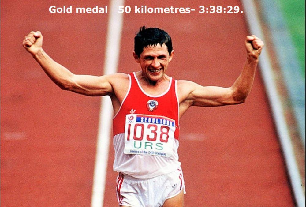 Вячеслав Иваненко – чемпион ОИ в Сеуле (1988) по спортивной ходьбе на 50 км. Сейчас 60-летний легкоатлет живёт в Кемерове и тренирует спортсменов. Почетный гражданин Кемеровской области.