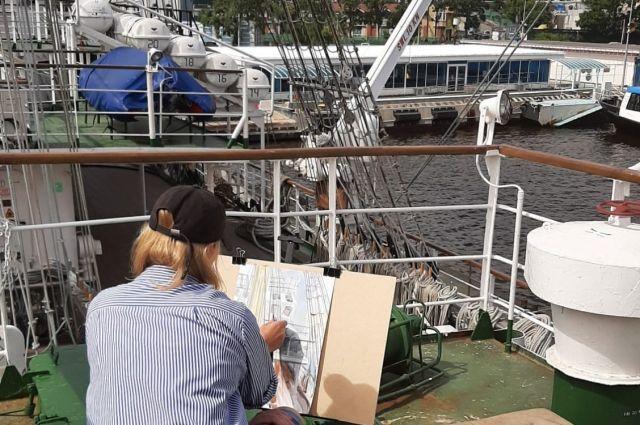 Пленэры стали частью проекта «Нарисованный Владивосток».