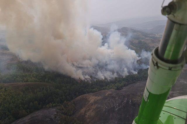 В ряде районов Башкирии 12 августа сохранится чрезвычайная пожароопасность