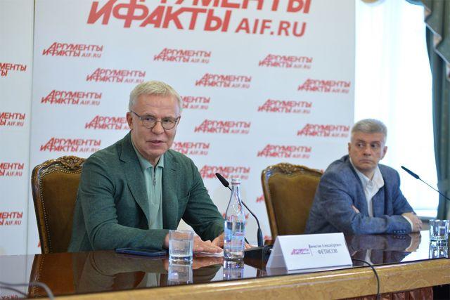 Вячеслав Фетисов, председатель ВООП, посол доброй воли ООН, депутат ГД РФ.