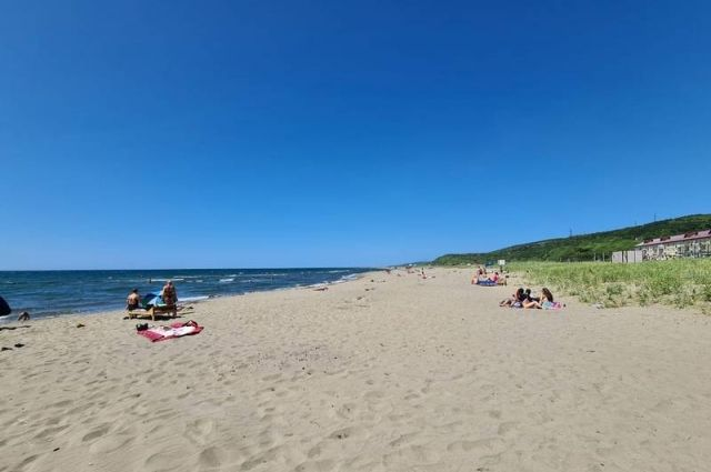 Где-то еще предстоит дооборудовать пляжные зоны.