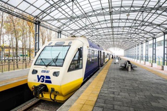 Укрзализныця изменит маршрут поезда Киев-Харьков ко Дню Независимости