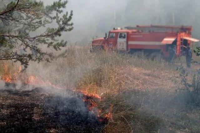 В Башкирии продолжают действовать 10 лесных пожаров