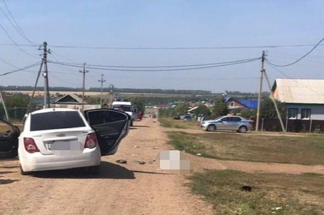 Два человека погибли в ДТП с вылетом с дороги в Башкирии