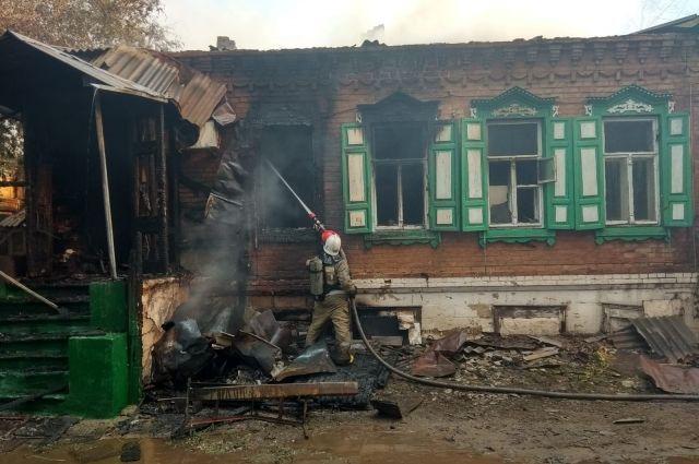 Прокуратура Ленинского района города Оренбурга следит за ходом проверки по факту пожара в центре Оренбурга