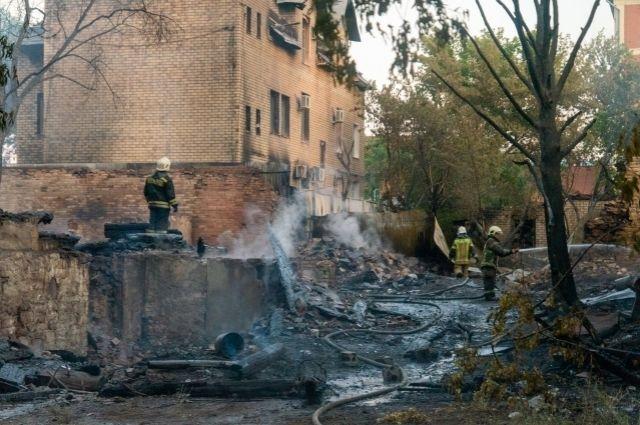 Пострадавшие при пожаре обратились к и. о. прокурора Оренбургской области Игорю Крушинскому