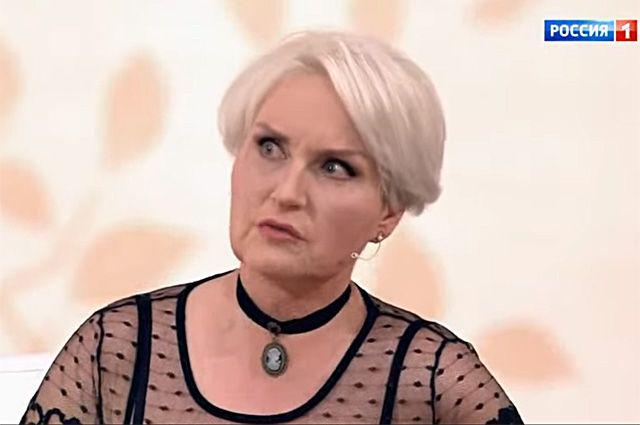 Ольга Шукшина в эфире шоу «Судьба человека».