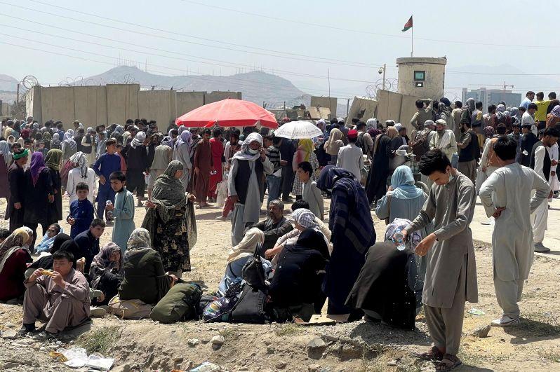 Ситуация у международного аэропорта им. Хамида Карзая в Кабуле