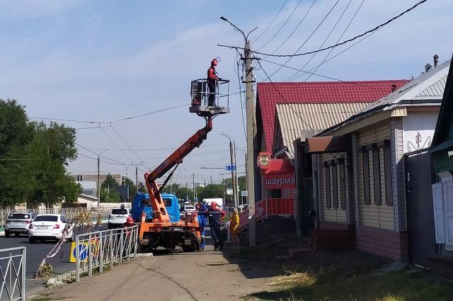 Оренбуржец остался без света за долги перед ресурсоснабжающей компанией.