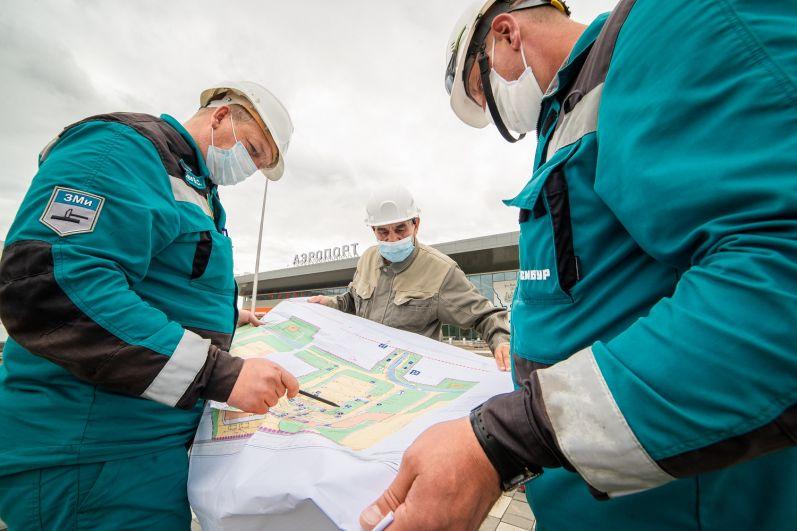 Аэропорт практически сформировал свой штат, август 2021.