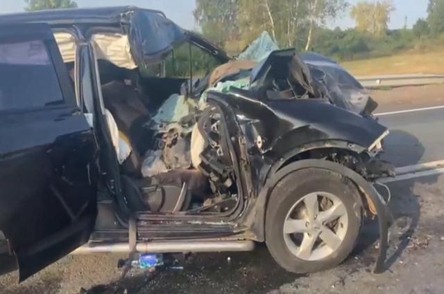 Пьяное ДТП с двумя пострадавшими детьми произошло на трассе в Башкирии
