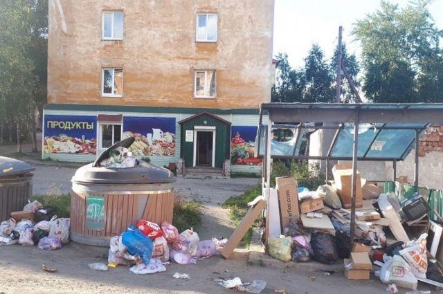 Жители Кандалакши возмущены старыми контейнерами.