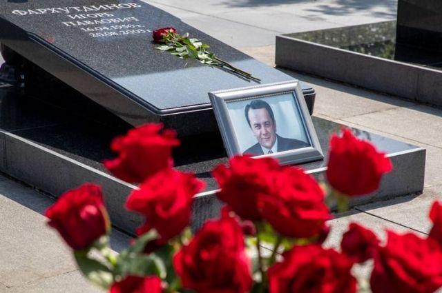 Церемония памяти состоялась на территории Воскресенского кафедрального собора в Южно-Сахалинске.