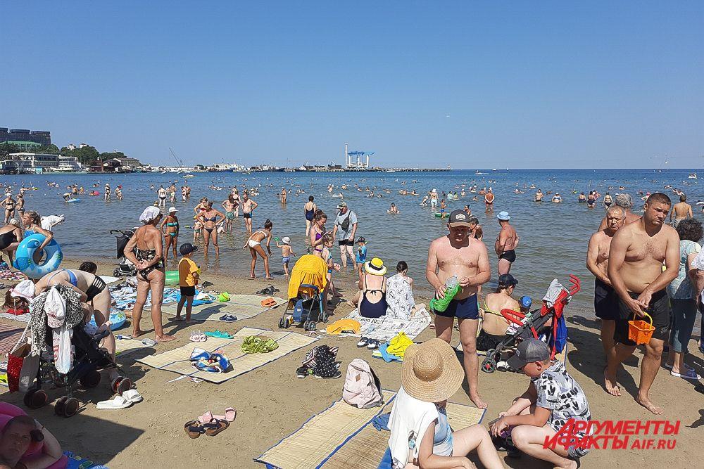 Лето 2021 года в Анапе.