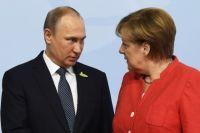 Меркель поддержала продление контракта на транзит газа из РФ по Украине