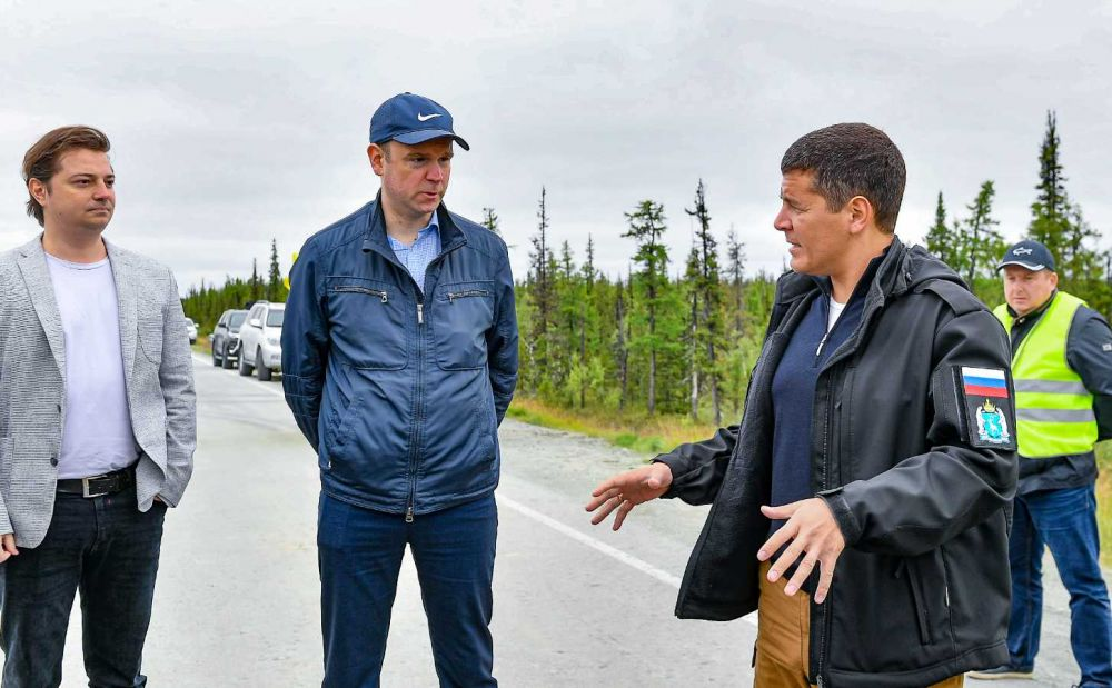 9 августа стартовала ежегодная поездка Дмитрия Артюхова по Ямалу за рулем.