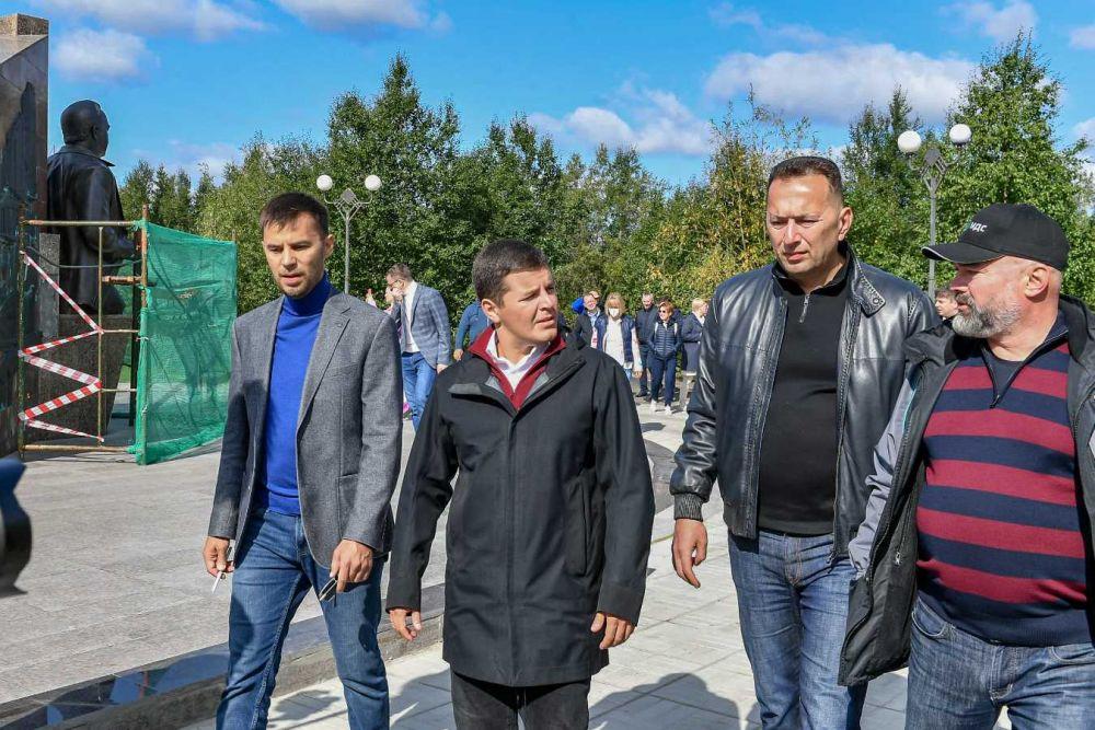 Третий день поездки. Губернатор Ямала в Новом Уренгое, 2021