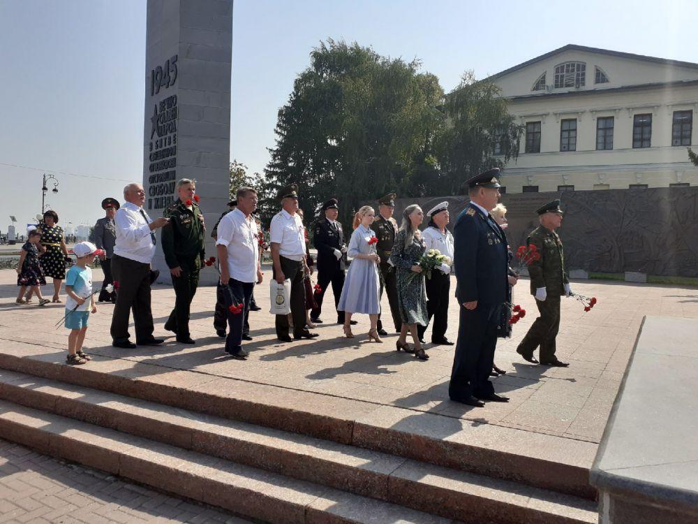 День офицера РФ, Тюмень – 2021