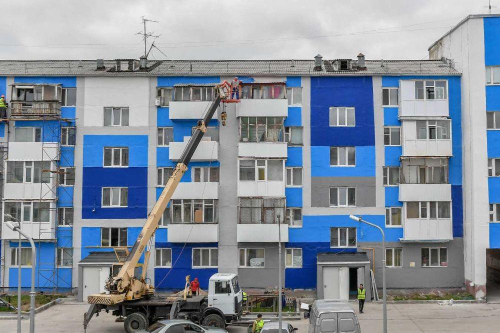 Рабочая поездка губернатора Ямала Дмитрия Артюхова в Надым, 2021.