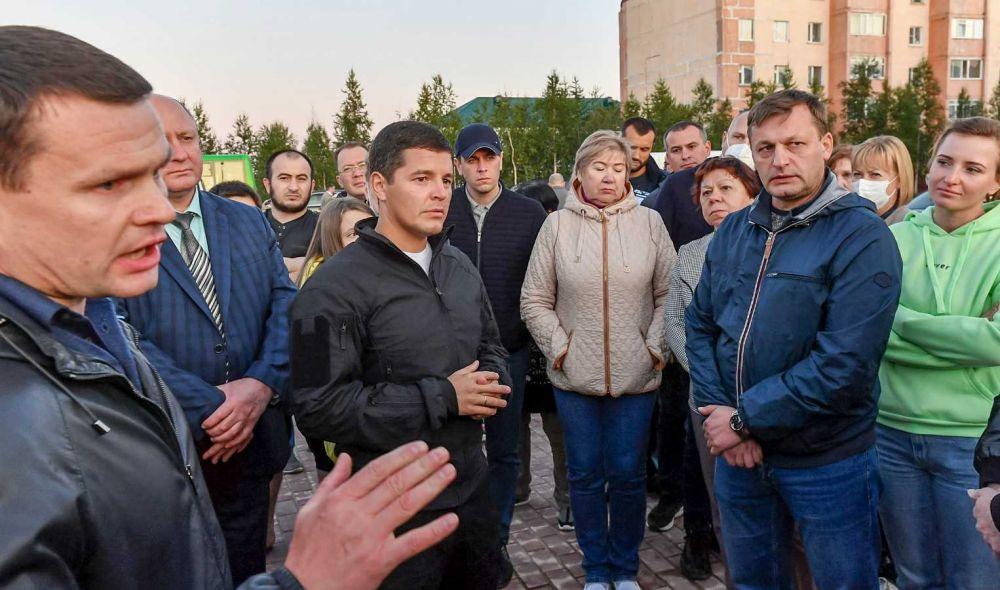 Дмитрий Артюхов посетил Пангоды, 2021.