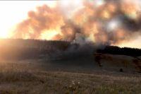 Пожар в Абдулино локализован, эвакуация не требуется.