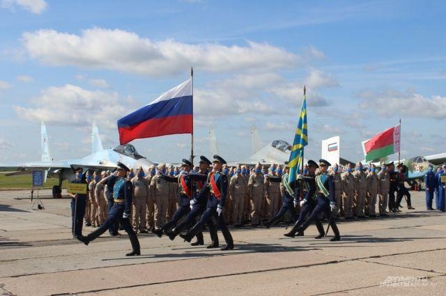 718 военнослужащих из трёх стран примут участие в конкурсе.
