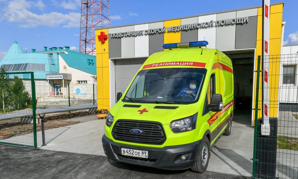 Новая подстанция скорой помощи, Коротчаево, 2021.