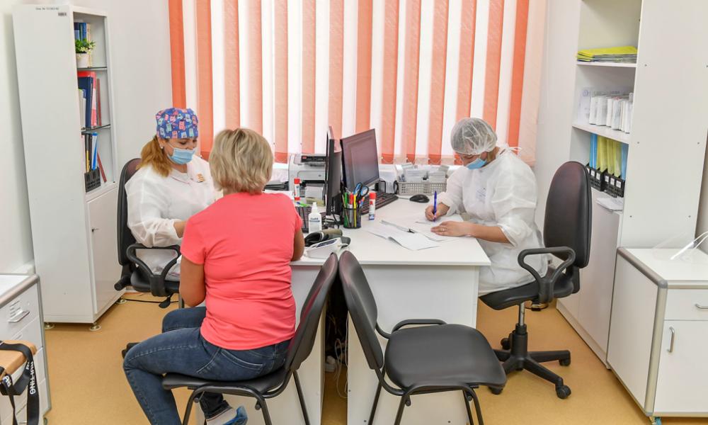 Поликлиника в Лимбяяхе, 2021.