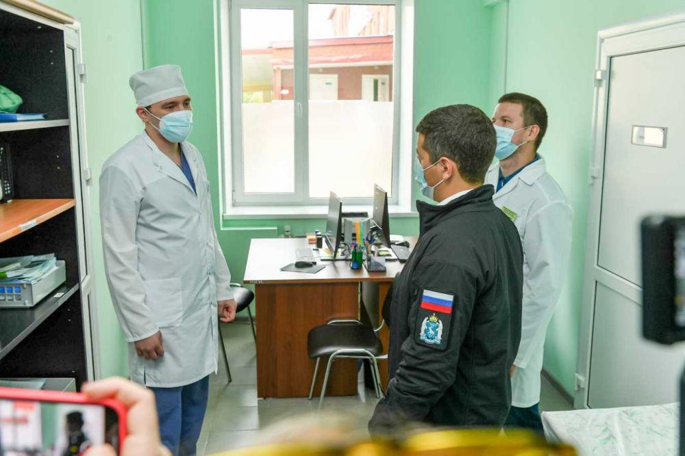 Взрослая поликлиника центральной районной больницы, Тарко-Сале, 2021.