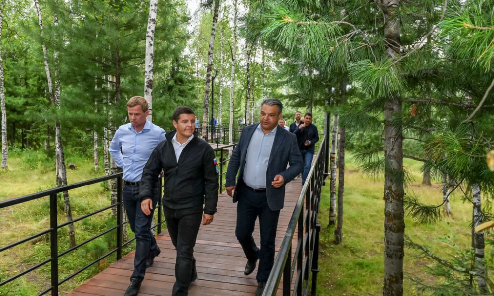 Парк Прибрежный, Тарко-Сале, 2021.