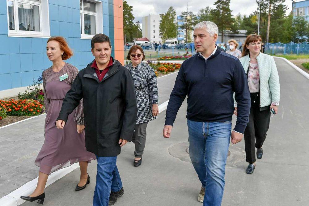 Губернатор Ямала в Ноябрьске, 2021.