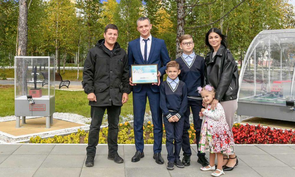 Рабочая поездка губернатора Ямала в Муравленко, 2021.