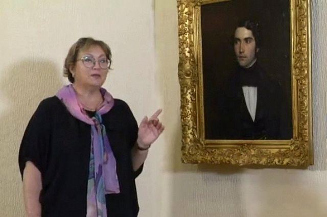 Работники музея выяснили, что молодой человек на портрете – Александр Гельфердинг