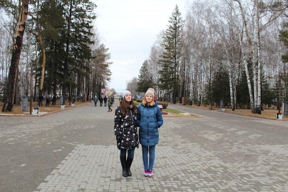 Томск, Лагерный сад.
