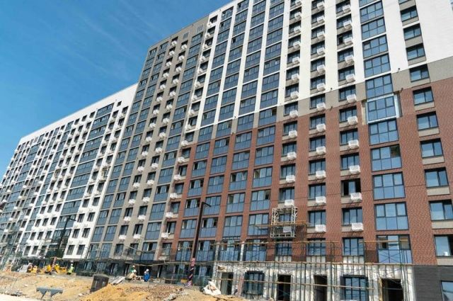 Всего в новом доме – 370 квартир. Большая их часть будет сдана под ключ.
