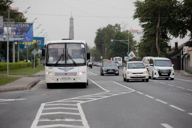 Выделенная полоса появилась на участке ул. Ленина от ул. Пуркаева до ул. Емельянова в начале июня.