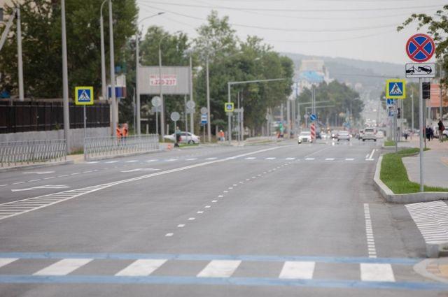 26 августа в эксплуатацию будет сдан участок ул. Ленина от ул. Сахалинской до Пенсионного фонда.