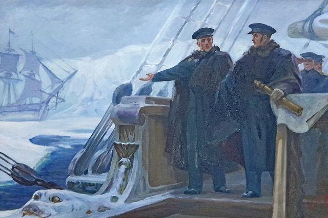 16 (28) января 1820 года лейтенант Лазарев и капитан 2-го ранга Беллинсгаузен явили миру новую часть суши.