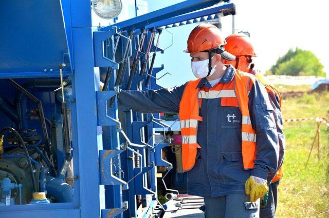 Т Плюс в Оренбурге досрочно завершил ремонтные работы на тепломагистрали в Дзержинском районе.