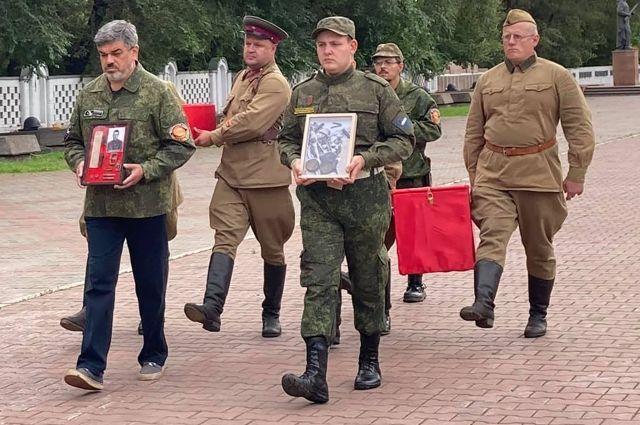 Возвращение на родину солдат почти через 76 лет после победы в Великой Отечественной войне.
