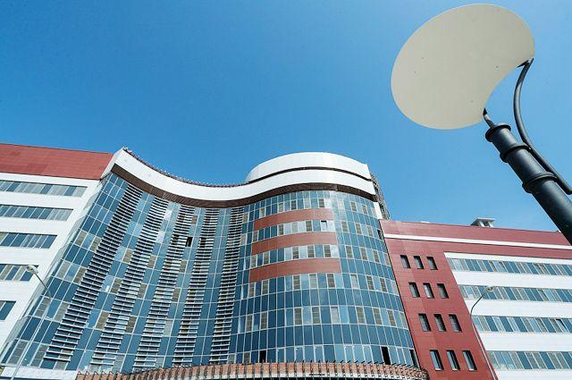 Вот так будет выглядеть новый корпус онкоцентра – он уже готов на 85 процентов.