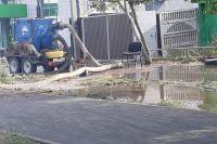 Жителям переулка Дальнего в Оренбурге возместят ущерб, причиненный в резульатте коммунальной аварии.